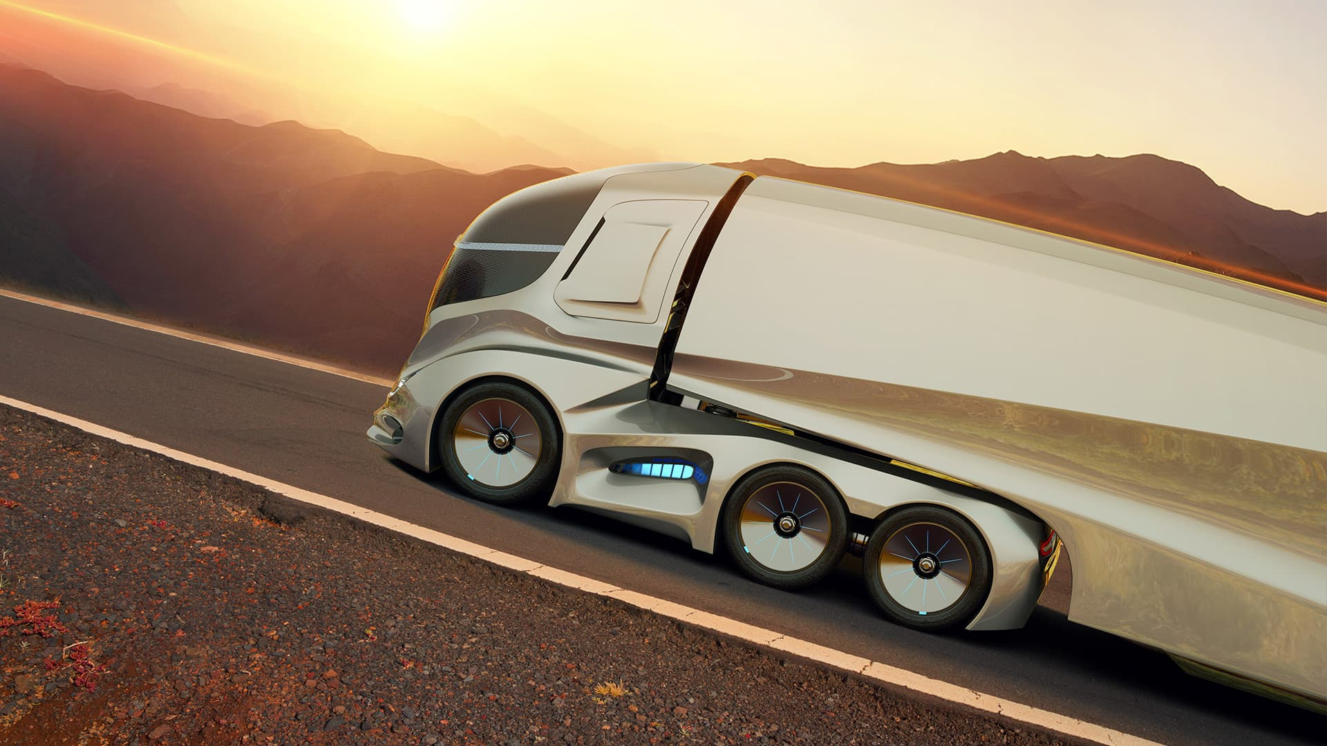 Coming Soon to a Highway Near You: Autonomous Trucks